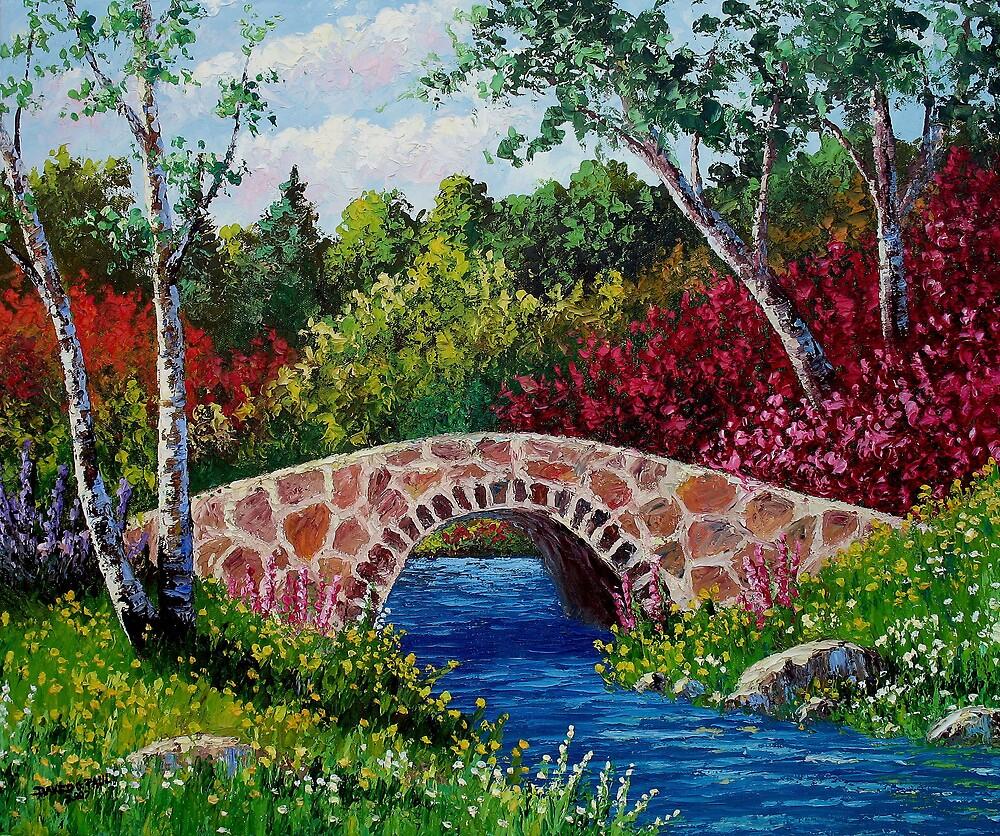 The Little Stone Bridge by David Paul
