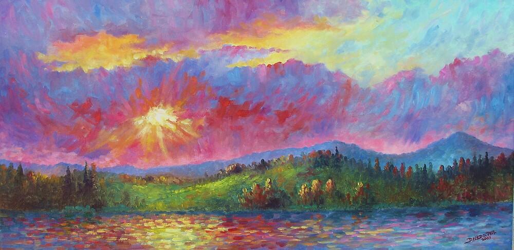 Front Range Sunset by David Paul