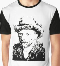 Van Gogh Portrait Graphic T-Shirt