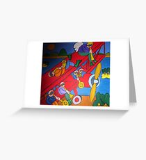 Red Baron. Greeting Card
