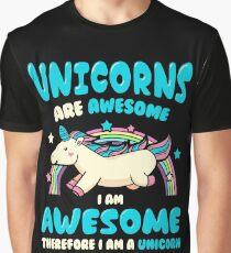 Magic Unicorn Graphic T-Shirt
