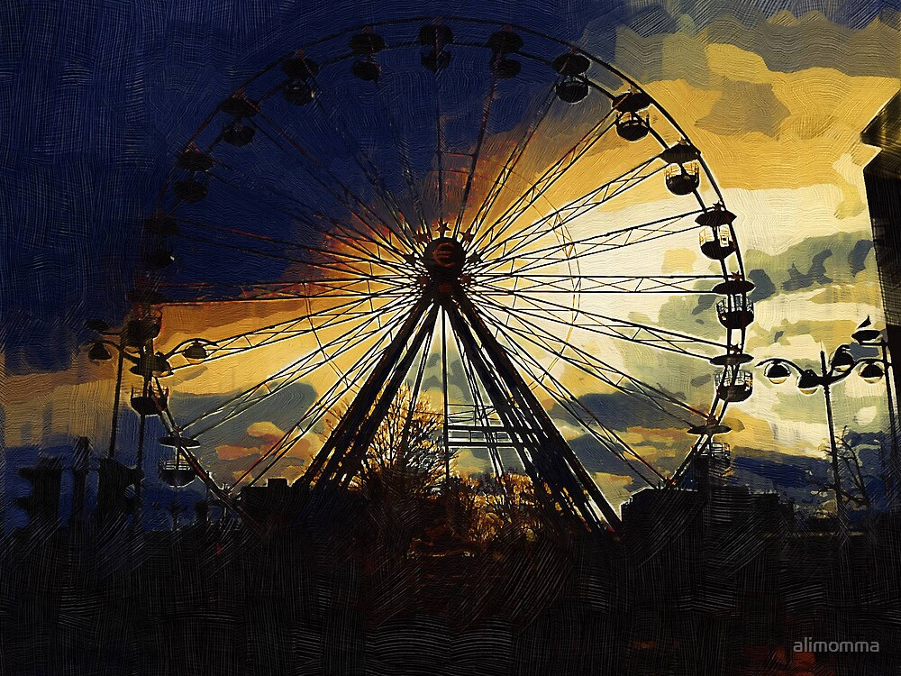 The Wheel by alimomma