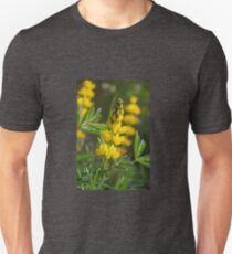 Wild Lupin (Lupinus luteus) Unisex T-Shirt