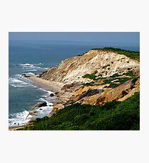 Cliffs Of Gayhead Photographic Print
