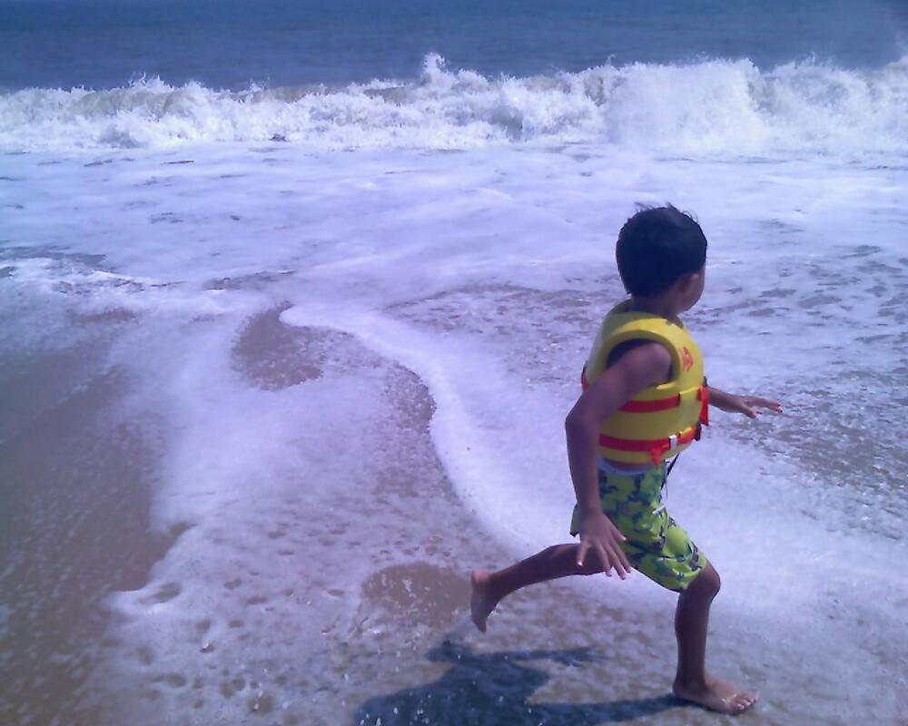 Running in the Ocean by abasas