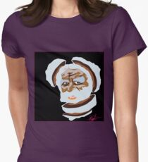 Digital Division (BLK) Womens Fitted T-Shirt