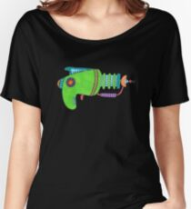 Green Alien Pistol Women's Relaxed Fit T-Shirt