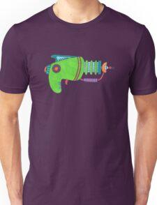 Green Alien Pistol Unisex T-Shirt