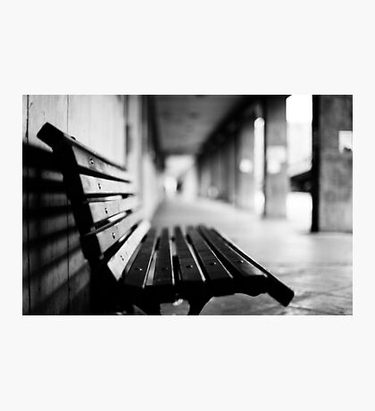 bench for you Photographic Print