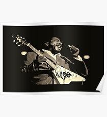 He'll Play The Blues For You! Poster
