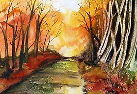 "AUTUMN""S BLAZE by Marsha Woods"
