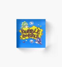 Gaming [C64] - Bubble Bobble Acrylic Block