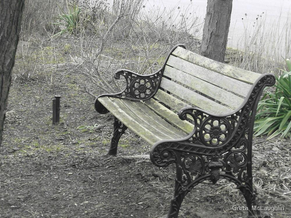 The Bench by Greta  McLaughlin