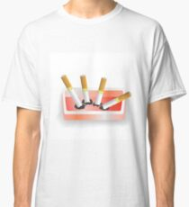 ashtray and cigarettes Classic T-Shirt