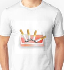 ashtray and cigarettes T-Shirt