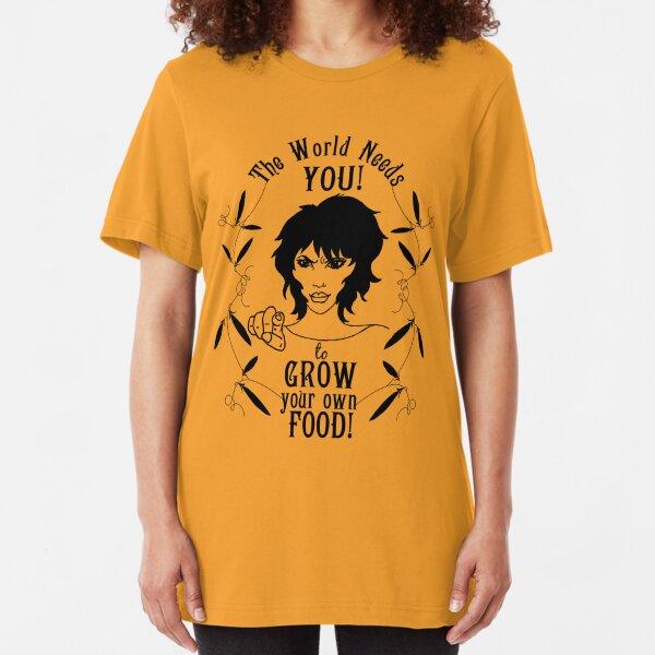 Grow Food! Slim Fit T-Shirt