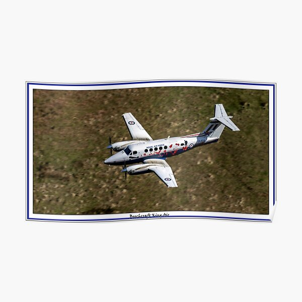 Beechcraft King Air Poster