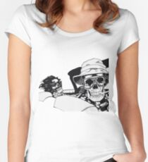 Fear And Dying In Las Vegas Women's Fitted Scoop T-Shirt