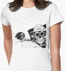 Fear And Dying In Las Vegas Women's Fitted T-Shirt