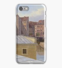 Eduard Gaertner - The Friedrichsgracht, Berlin iPhone Case/Skin