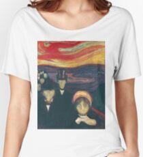 Edvard Munch - Anxiety Women's Relaxed Fit T-Shirt