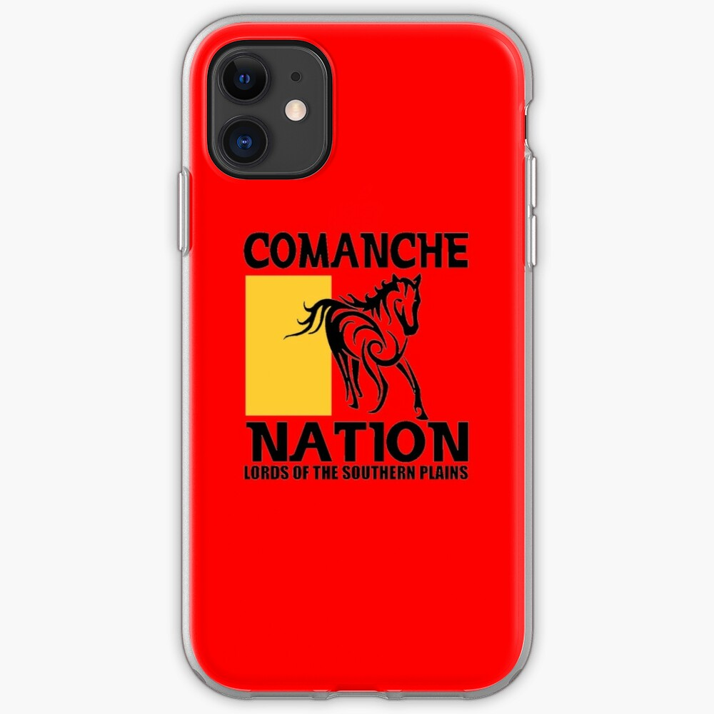 Comanche Nation Iphone Case Cover By Impactees Redbubble