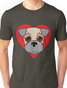 Wheaten Terrier Face Unisex T-Shirt