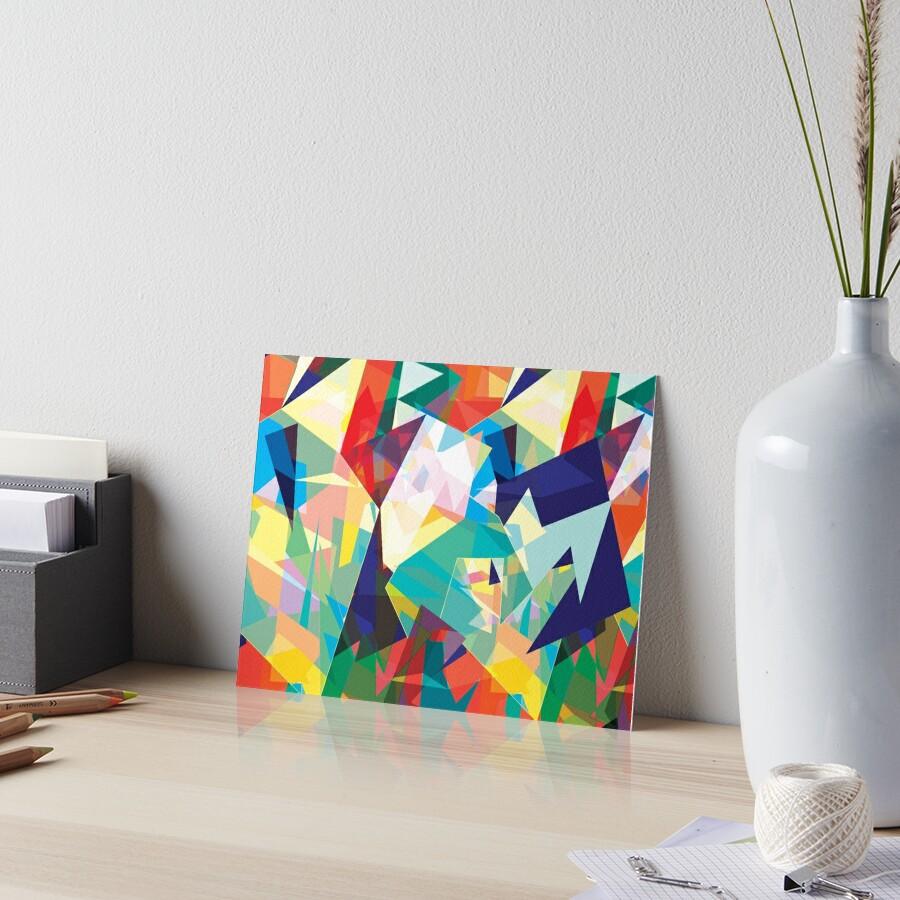 My Mirror Art Board Print By Artofcomma Redbubble