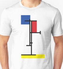 Mondrian Minimalist De Stijl Modern Art III T-Shirt