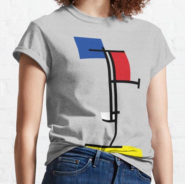 Mondrian Minimalist De Stijl Modern Art III © fatfatin Classic T-Shirt