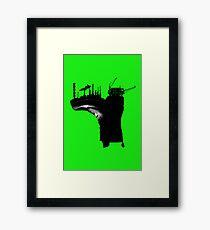 Environmental Footprint Framed Print