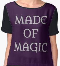 Made Of Magic Women's Chiffon Top