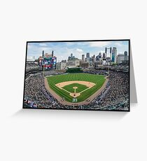 Detroit Baseball Greeting Card