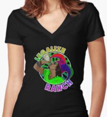 Legalize Ranch Merchandise Women's Fitted V-Neck T-Shirt
