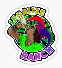 Legalize Ranch Merchandise Sticker