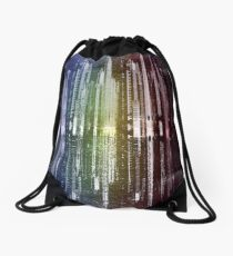 Graphite City Drawstring Bag