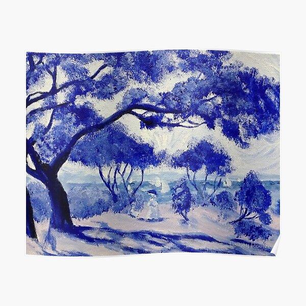 Blue Porcelain (Noirmoutier after Renoir) Poster