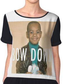 Lebron Bow Down  Chiffon Top