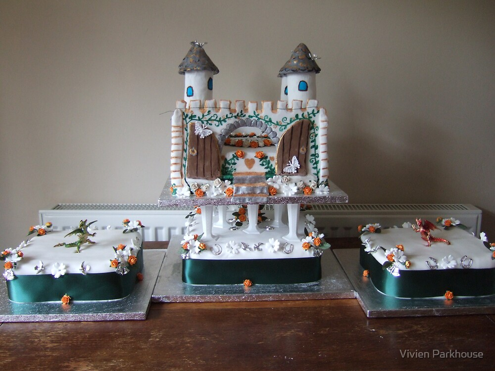 Wedding Cake by Vivien Parkhouse