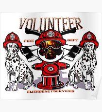Volunteer Fire Dept. Poster