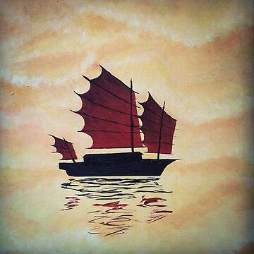 Sky Ship by L-Anais