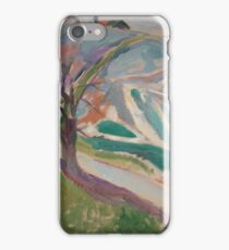 Edvard Munch - Landscape, Kragero iPhone Case/Skin