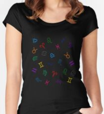 Homestuck troll Sign Women's Fitted Scoop T-Shirt