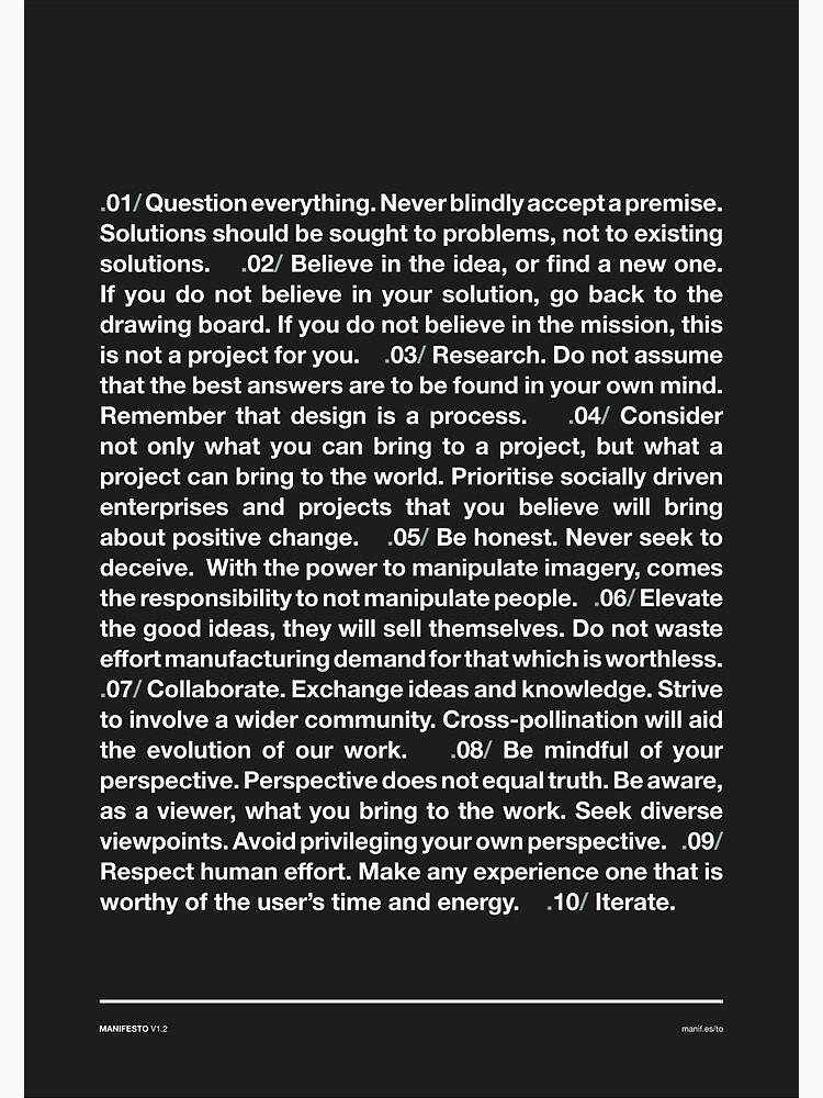 Manifesto - Grey by smth