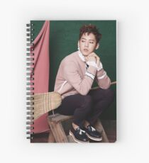MINHYUK Spiral Notebook