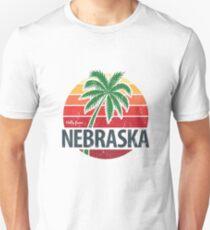 Hello From Nebraska! Unisex T-Shirt