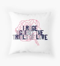 Beauty and the Beast - Trials of Love Throw Pillow