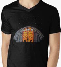 Cute Cat Kitty Ginger Kittens under Snow  T-shirt T-Shirt