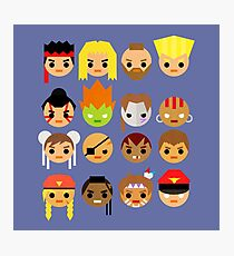 Street Fighter 2 Turbo Mini Photographic Print