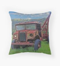 Heavy Lifter Throw Pillow